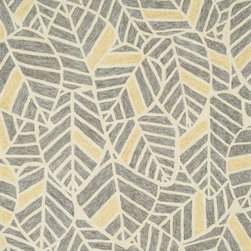 """Loloi - Loloi Tropez TZ-05 (Grey, Gold) 3'6"""" x 5'6"""" Rug - Set the foundation for an island lifestyle with our Tropez Collection. Hand hooked in China of 100% polypropylene, Tropez features tropical inspired design with trending-now colors suited for outdoor living. Take a closer look (or zoom in), and you'll notice the use of mixed yarns that give Tropez a refined color blend. And like all of our indoor/outdoor rugs,Tropez is easy to clean and will withstand any rain or sunshine."""