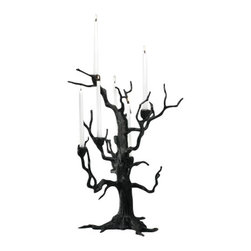 """Tree Branch Table Candleholder - *25""""H x 21""""Dia"""