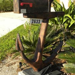 Distinctive Mailboxes - Anchors away!