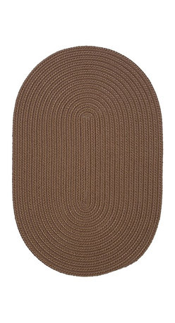 Colonial Mills - Colonial Mills Boca Raton BR83 Cashew Rug BR83R144X180 12x15 - Just pick a coloreany colorethey are all here! This colorful outdoor rug utilizes a simple flat braid construction in an array of colors to put a fashionable stamp on your decor.