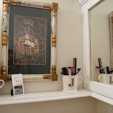 Eclectic Bathroom by Lauren Gries