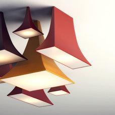Contemporary Ceiling Lighting by PANACOM