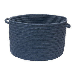 Colonial Mills - Colonial Mills BN59A018X018 Brooklyn Utility Basket- Blue Haze - BN59A018X018 - Shop for Baskets from Hayneedle.com! About Colonial MillsThe resurgent popularity of braided texture comes as no surprise to Colonial Mills Inc. (CMI). For the past several years CMI has developed new colors and styles that will capture the home decorating imagination of just about anyone. CMI considers a braid as a method of construction not a style. Braided construction adds a distinctive look and premium durability to rug styles ranging from contemporary to traditional. Creating exceptional rugs and providing superior customer service is a team effort at CMI proudly recognized as a trusted supplier to the best-known retailers in the United States today.