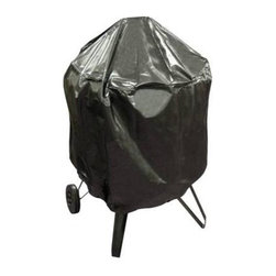 """Landmann - Heatwave and Elite Firepit Cover - Covers will protect your product from outside elements giving your product longer life . HEATWAVET Cover Black PVC no logo (fits original 28"""" Heatwaves and Elite only). 38 in. d X 38 in. H (2.5 lbs)"""