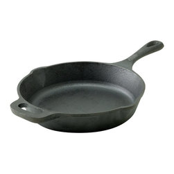 Emeril - Emeril by All-Clad 10 in. Cast Iron Fry Pan Multicolor - E9640564 - Shop for Skillets & Fry Pans from Hayneedle.com! A great all-around tool in any kitchen the Emeril by All-Clad 10 in. Cast Iron Fry Pan has a versatile design - use it in the oven on the stove top on the grill or over a campfire. Pre-seasoned and ready for action this fry pan has a naturally non-stick surface and its ability to hold heat means it will keep your food warm on the table.About EmerilwareYou've probably seen him in on TV or maybe you've dined at one of his restaurants. Emeril Legasse is a renowned chef cooking show host and owner of 11 acclaimed restaurants. Throughout his diverse culinary career Emeril has mastered everything from bread- and pastry-making to the classic art of French cuisine. The celebrity chef is also the creator of his own premium cookware brand Emerilware. The Emerilware product line is known for its quality performance and design. From pots and pans to bread makers and blenders each piece is inspired by Emeril's passion for cooking and entertaining.