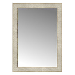 "Posters 2 Prints, LLC - 16"" x 22"" Libretto Antique Silver Custom Framed Mirror - 16"" x 22"" Custom Framed Mirror made by Posters 2 Prints. Standard glass with unrivaled selection of crafted mirror frames.  Protected with category II safety backing to keep glass fragments together should the mirror be accidentally broken.  Safe arrival guaranteed.  Made in the United States of America"