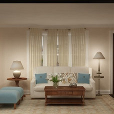 Traditional Rendering by Marie Burgos Design