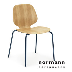 Normann Copenhagen My Chair Oak/Green Dark Blue - Normann Copenhagen My Chair Oak/Green Dark Blue