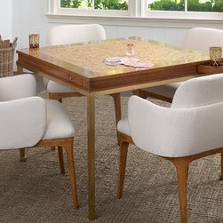 Gregory Game Table and Petal Chairs - Gregory Game Table and Petal Chairs