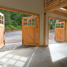 Traditional Garage Doors And Openers by Real Carriage Door Company