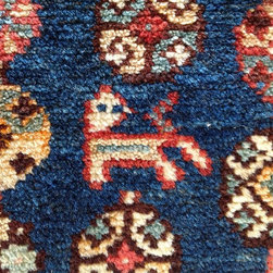"""Rug of the Day: Vintage and Antique - 4'1""""x6'11"""" Mazlaghan"""