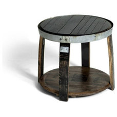 Contemporary Outdoor Side Tables by Allen Booth LLC