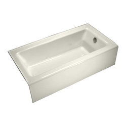 KOHLER K-876-96 Bellwether Bathtub with Integral Apron and Right-Hand Drain in B