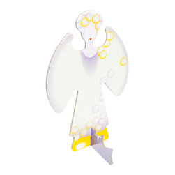 OOTS! - Pop-Out Cards: Guardian Angel - Let this guardian angel light the way. It's the perfect holiday card for that special someone. Made from recycled cardboard, this charming pop-out angel will look lovely displayed on the mantel.