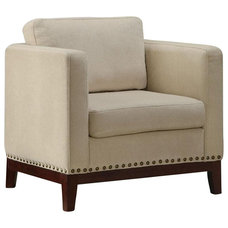 Transitional Accent Chairs by Cymax