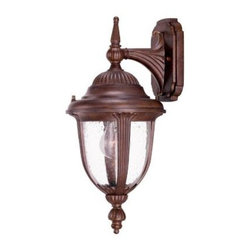 Acclaim Lighting - Outdoor Lighting. Monterey Collection Wall-Mount 1-Light Outdoor Burled Walnut L - Shop for Lighting & Fans at The Home Depot. The Monterey collection 1-light wall lantern is made of durable cast aluminum. The globe is clear seeded glass. This lantern design will compliment many different architectural styles.