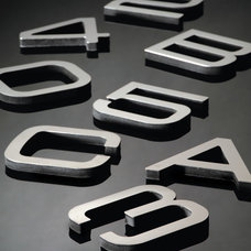 Contemporary House Numbers by Bradford Hardware