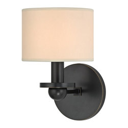 Hudson Valley - 1511-OB Kirkwood Wall Sconce, Old Bronze - Modern Contempo Wall Sconce in Old Bronze from the Kirkwood Collection by Hudson Valley.