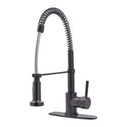 Kingston Brass - Gourmetier Single Handle Pull-Down Spray Kitchen Faucet GS8885DL - Refreshing in its simplicity, Rustic style highlights natural beauty and a rugged, resilient spirit.  Thanks to the unpretentious roots, organic textures, shapes and natural warmth, it's become as popular in the heart of the city as it is out in the woods.. Product Name: 1-3/8 In. Manchester Biscayne Antique Cabinet Knob. Finished: Biscayne Antique Finish. Included: Mounting Hardware Included. Size Type: Diameter. Screw Center to Center in Inches: . Diameter: 1.375. Diamension Length in Inches: 1.38. Diamension Width Inches: 1.38. Diamension Height Inches: 1. Weight in OZ: 1.92. Product Type: Knobs. Style: Rustic. Finish Name: Biscayne Antique. Appearance Finish: Antiqued. Color Palette: Browns. Basic Shape: Geometric/Angular
