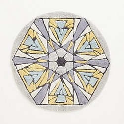 Anthropologie - Tufted Kaleidoscope Bathmat - *Cotton