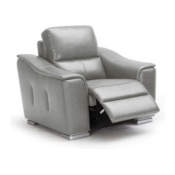 Lounge & Chaise - Modern grey lounge chair