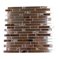 Medallions Plus - Stainless Steel Mosaic Backsplash Tile Stain Less Tiles Kitchen Tile Bathroom - Item Description