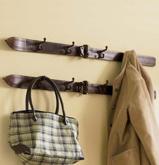 eclectic clothes racks by Orvis
