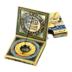 "Kid's Maritime Pocket Sundial - The kid's maritime pocket sundial measures 3.7 x 3.7 x 0.8"". Our version of the earliest time telling methods, find a sunny day and have some fun."
