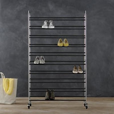 Contemporary Shoe Storage by Crate&Barrel