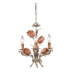 Crystorama - Crystorama Southport Chandelier X-RS-3084 - The Southport collection is evocative of vintage tole fixtures. We offer it in a vintage, soft hand painted finish or glossy white. The high-end designer finish lends a contemporary feel to the whimsical collection.