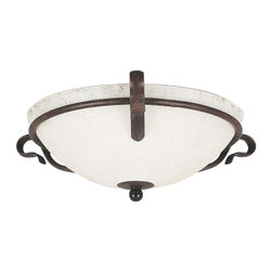 Sunset Lighting - Sunset Lighting F5485-62 Venice Flush Mount - Sunset Lighting F5485-62 Venice Flush Mount