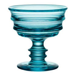 Kosta Boda - By Me Bowl Turquoise - Martti Rytk'nen goes Kosta Boda! With his first ever Kosta Boda item Martti Rytk'nen presents a footed bowl with a gorgeous shape that attracts the eye.