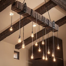 rustic chandeliers by AES Mobile Studios