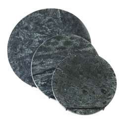 "SPARQ - Soapstone Pizza Stone, Circle, Without Marble Trivet - * Price is for 1 pizza stone only. Please select the size you would like to order. Soapstone 12"" Pizza Stone"