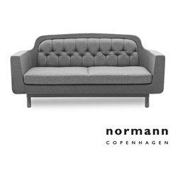 Normann Copenhagen Onkel Sofa 2-Seater Light Gray - Normann Copenhagen Onkel Sofa 2-Seater Light Gray