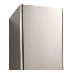 """32"""" Flue Cover for 30"""" Casa 2200 Series Stainless Steel Wall-Mount Range Hood - Made to fit the 30"""" Casa 2200 Series Stainless Steel Wall-Mount Range Hood, this flue cover allows you to raise the flue height by up to 32"""". More than one may be used for especially tall ceilings."""