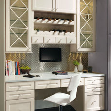 Contemporary Desks And Hutches by MasterBrand Cabinets, Inc.