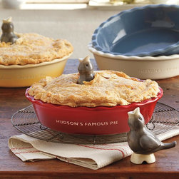 Pie Bird - This ceramic pie bird will vent steam while you cook your homemade pie so that you never have to worry about it deflating. It also gives your pies a creative and vintage look. I know it will be a definite staple for my next pie contest!
