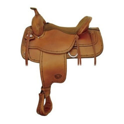 Tex Tan Flex Montrose Trail Memory Foam Saddle