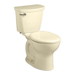 "American Standard - American Standard 215D.A104.021 Cadet Pro Elongated 12"" Rough Toilet, Bone - American Standard 215D.A104.021 Cadet Pro Elongated 12"" Rough Toilet, Bone. This vitreous china constructed elongated toilet meets EPA WaterSense criteria, a trade-exclusive tank, a PowerWash rim that scrubs the bowl with each flush, a robust metal left-sided trip lever/metal shank fill valve assembly, an EverClean surface, a 4"" piston-action Accelerator flush valve, a 12"" Rough-in, a chrome finish trip lever, and a fully-glazed 2-1/8"" trapway."