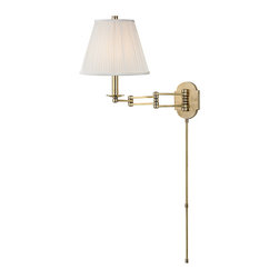 HUDSON VALLEY LIGHTING - Hudson Valley Lighting Ravena-Wall Sconce Aged Brass - Free Shipping