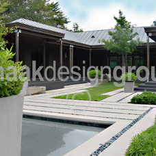 Modern Exterior by Knaak Design Group