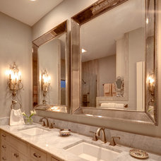 Traditional Bathroom by Mary McGaughy Interiors