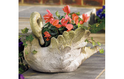 Traditional Outdoor Planters by Williamsburg Marketplace