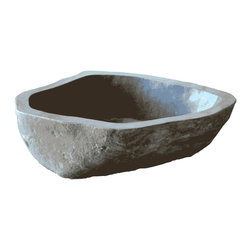 BoulderWorx.com - Hand Carved Boulder Bathtub. Luxury Stone Soaker Tub. MBB#1 - This tub is hand carved from a solid boulder and turned into a luxurious masterpiece.