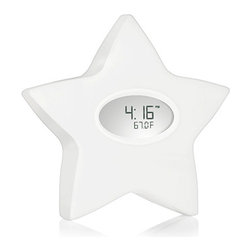 Serenity Star - I had an egg-shaped thermostat in my daughter's room, and I loved knowing if it was too hot or cold inside. This star-shaped one is especially cute.