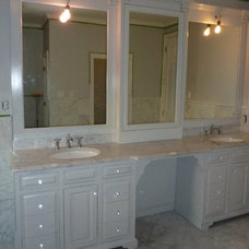 Traditional Bathroom Vanities And Sink Consoles by Randy Johnson Custom Furniture