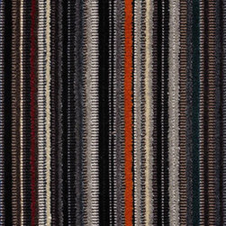 Epingle Strip by Paul Smith Lead Fabric - This soft striped fabric is very durable and provides a luxurious look and feel for any modern furniture piece.