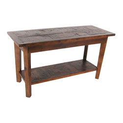 Alaterre - Alaterre Revive Reclaimed Bench in Natural - Revive Collection of reclaimed wood furniture features handcrafted design and a reduced impact on the environment. Reclaimed wood wears its history proudly and is long lasting.