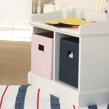 Modern Toy Organizers by The White Company